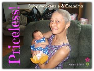 BABY MACKENZIE & GRANDMA